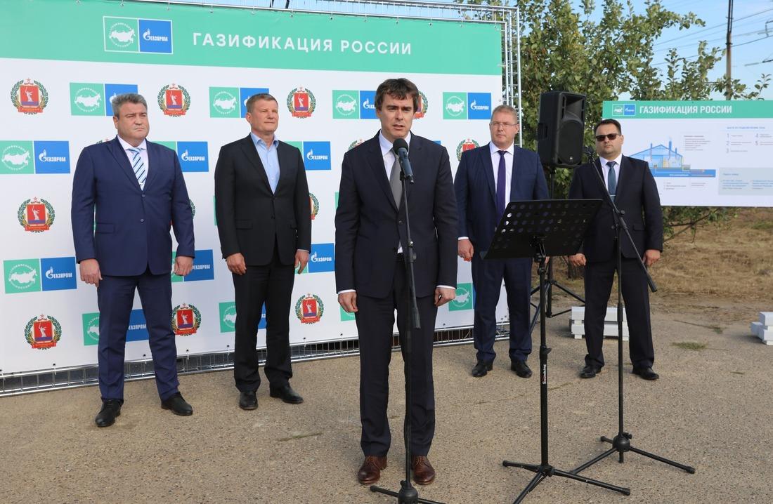 подключение ксетям газоснабжения жителей города Ленинск Волгоградской области