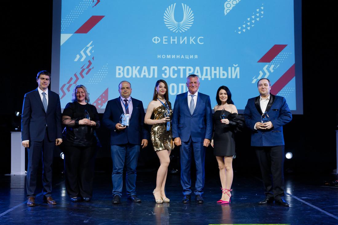 Победители фестиваля «Феникс» вноминации «Вокал Эстрадный— Соло»